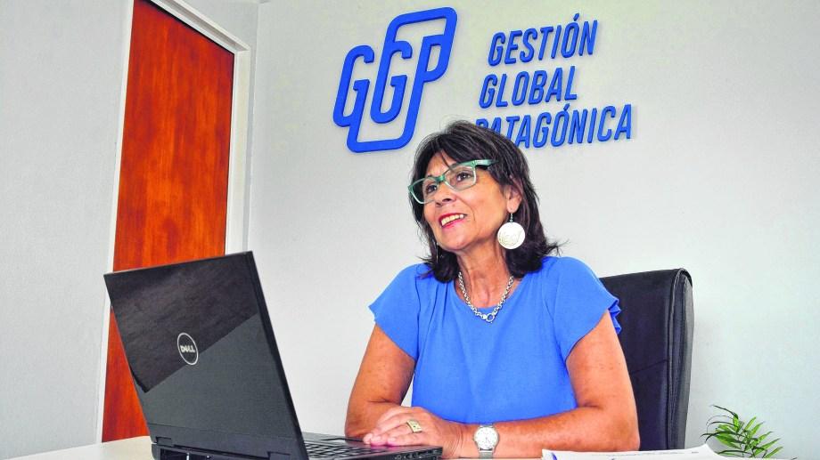 Mirta Mendoza, socia administradora de GGP. (Foto: Marcelo Ochoa)