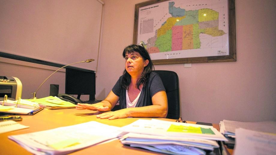 La interventora destacó que sus lineamientos para el IPPV asignan protagonismo a las ONGs.. Foto: Pablo Leguizamon