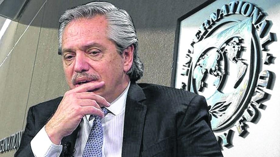 Presidente Fernández, Cruces en la negociación con el FMI