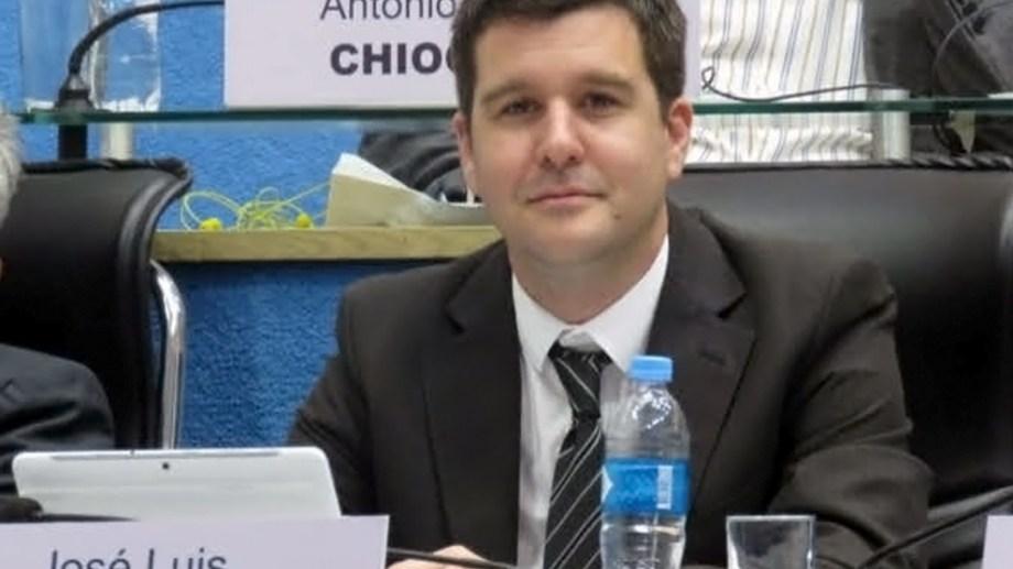 El legislador José Luis Berros respondió a las críticas del presidente de JSRN, Facundo López (Foto: archivo)