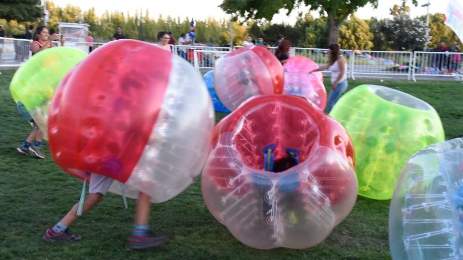 Hoy continúan las actividades y shows gratuitos de la Fiesta de la Confluencia. (Juan Thomes.