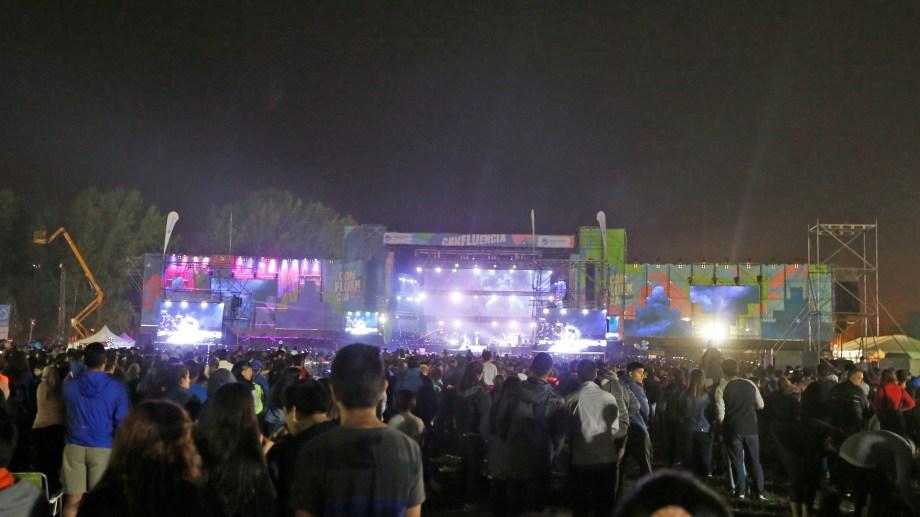 La Fiesta de la Confluencia hoy tiene su noche de rock. (Juan Thomes).-
