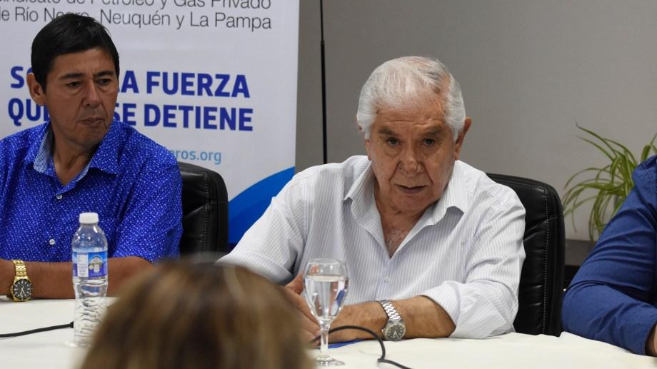 Gesto político. El pedido de la postulación de Pereyra fue realizado por Marcelo Rucci.