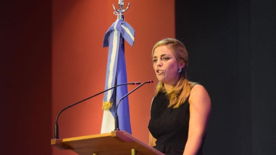 En diciembre último, María Emilia Soria asumió en la intendencia de Roca. Foto: Emiliana Cantera.-