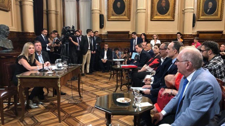 - María de los Ángeles Sacnun preside la comisión, mientras que Weretilneck se hará cargo de la Secretaría.- Foto: gentileza.-
