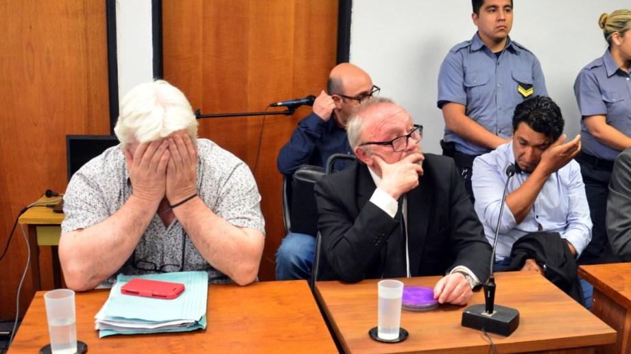 Ambos imputados deberán afrontar cuatro años de prisión efectiva. Foto: Marcelo Ochoa.