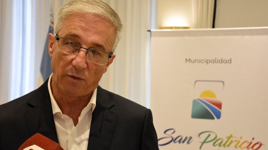 El intendente defendió la consulta popular sobre la EPEA  y aseguró que la Municipalidad de El Chañar no tomará partido. (Foto: archivo Florencia Salto)