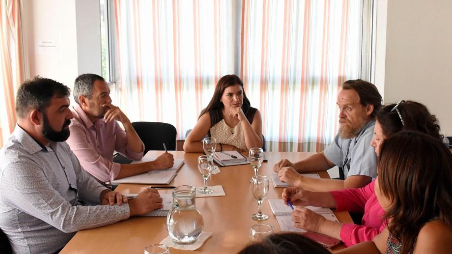 El gobierno ya realizó mesas técnicas con ATEN y la próxima semana será la salarial. Archivo Foto: Florencia Salto.