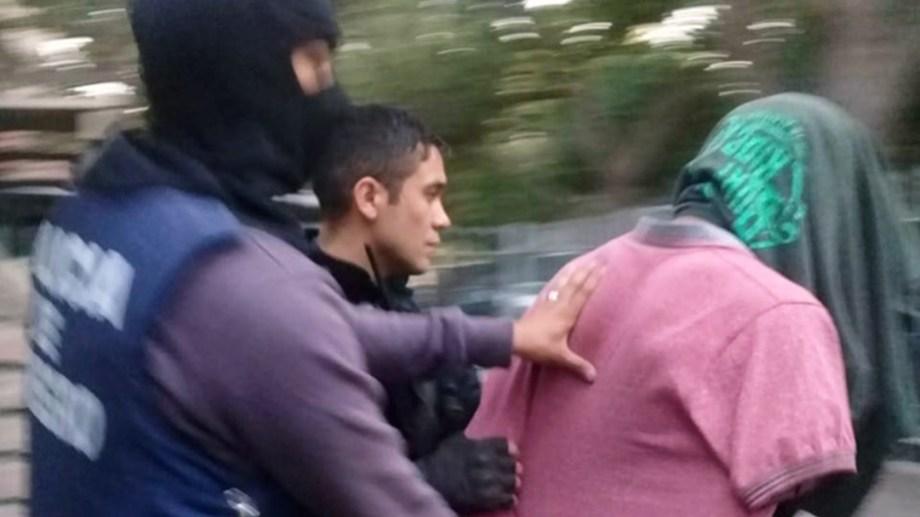 Un hombre detenido por violencia de género y que se había fugado en enero fue atrapado este viernes. (Foto: Gentileza)
