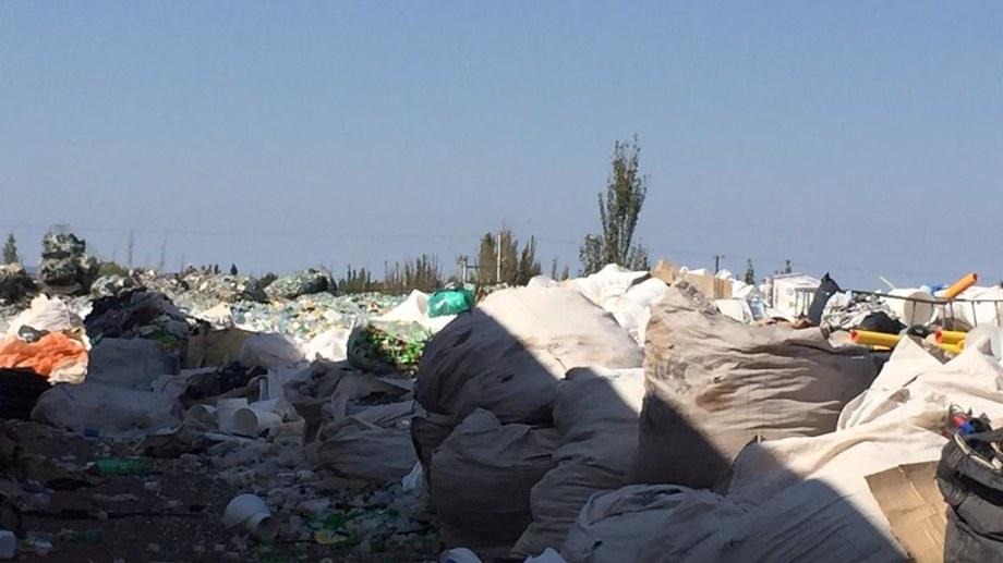 Referentes municipales visitaron una planta de reciclaje. Foto: gentileza.