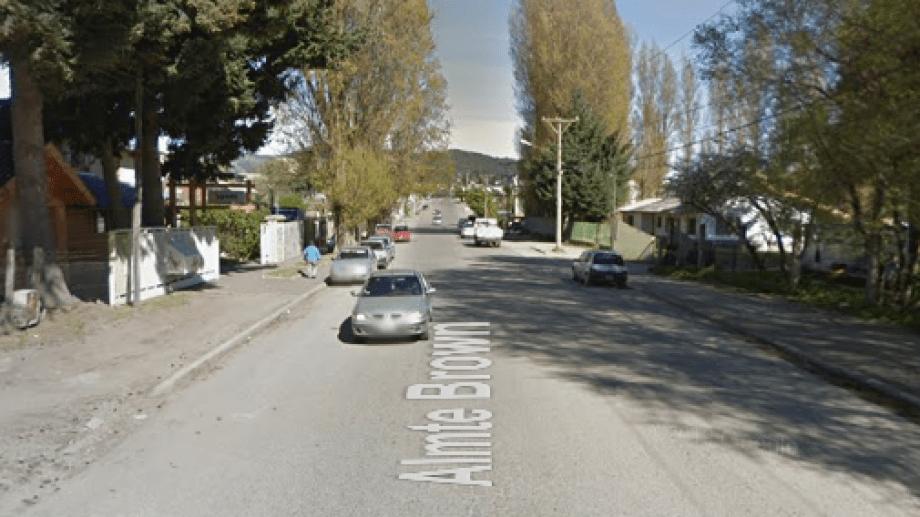 El hombre fue sorprendido en Ruiz Moreno y Brown. Foto: google maps.