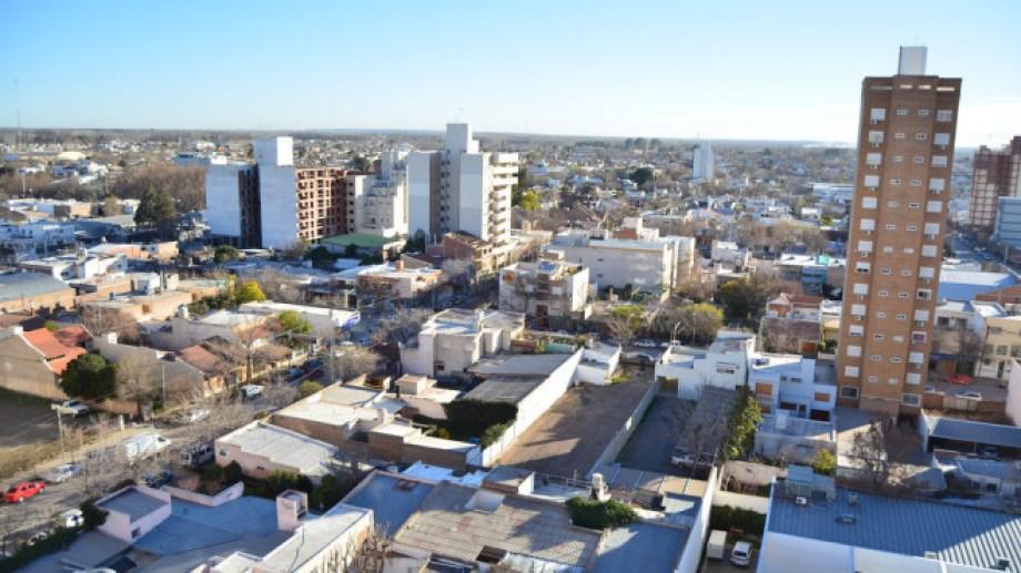 La ciudad desde las alturas. Foto: archivo.