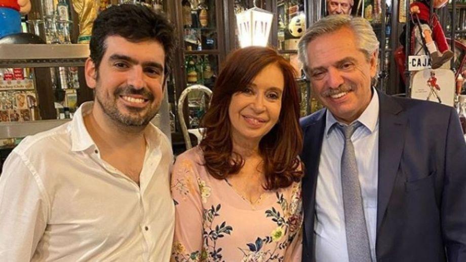 Cristina Fernández celebró su cumpleaños en un local gastronómico de Buenos Aires.
