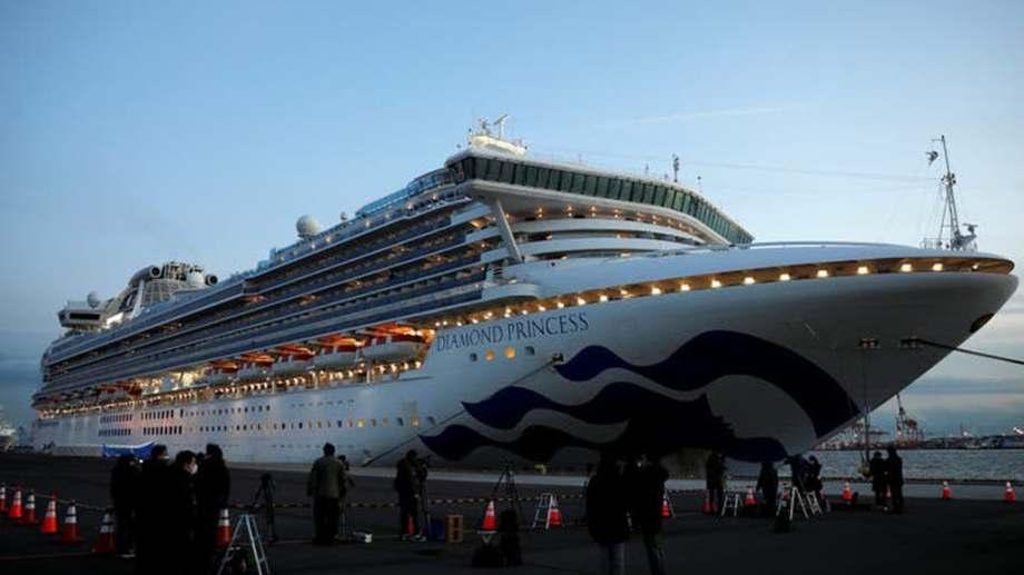 Varios integrantes del contingente estuvieron aislados. En total había 3700 personas en el barco.