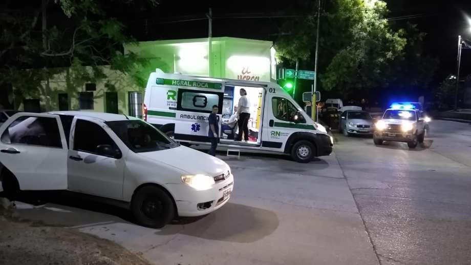El asalto ocurrió anoche, pasadas las 22, en la esquina de Moreno y Maipú.