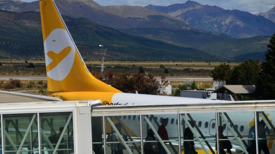 El vuelo arribó a Bariloche a la 1.15 de este lunes. Foto: archivo