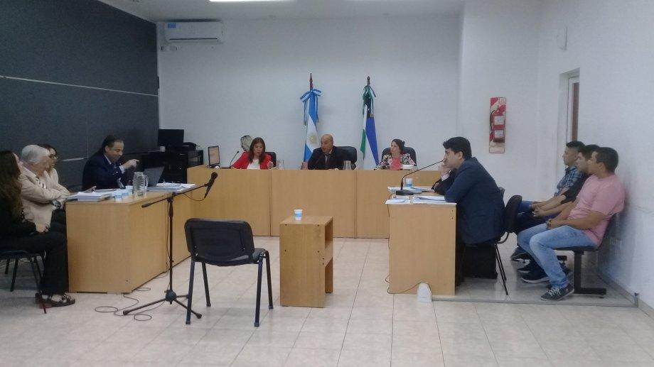 Inició el juicio por la muerte de Santiago Sagredo. Foto: gentileza Edgardo Pino.