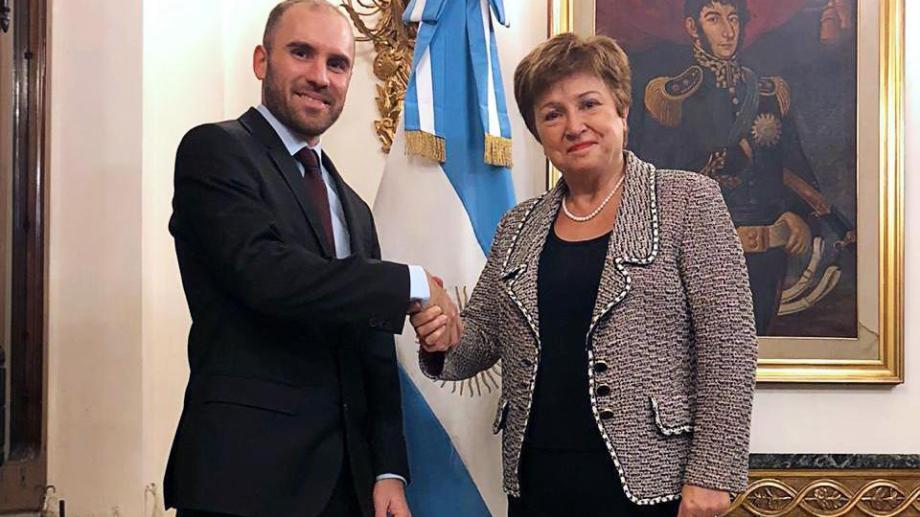 Guzmán y Georgieva ya se han reunido en ocasiones anteriores. Foto: archivo.-