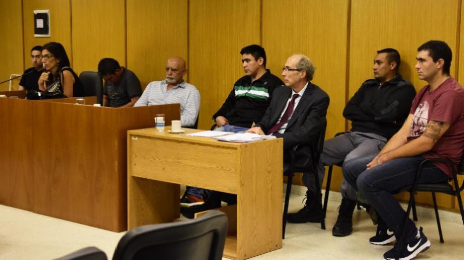 El juicio se realizó en Roca. Paredes era el jefe de la banda que asesinó a dos personas en Chichinales. (foto: archivo)