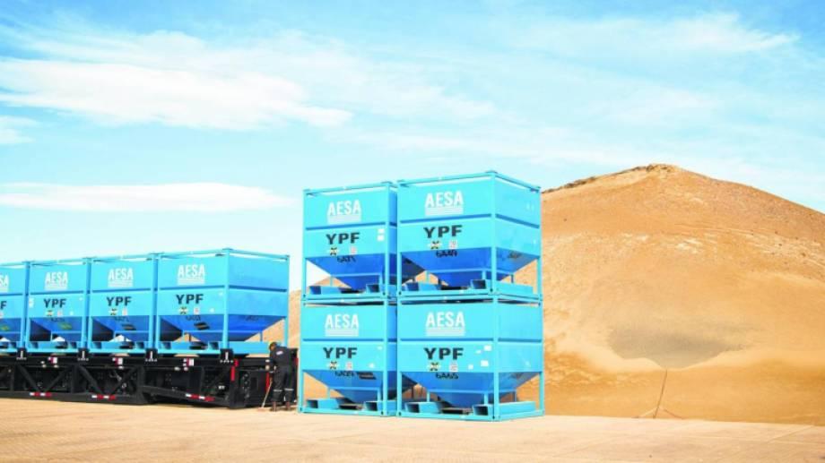 El Sindicato de Petroleros denunció incumplimientos en los contratos de 200 trabajadores de la planta de arena de YPF. (Archivo).-