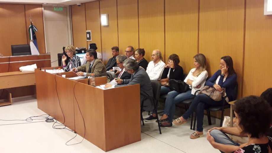 La audiencia de formulación de cargos se dividió en cuatro jornadas.
