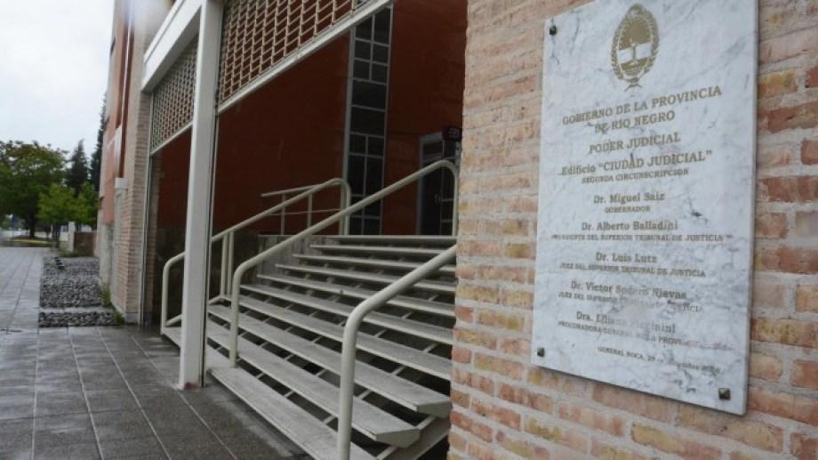 El sujeto fue condenado hace unos días en una sala del subsuelo del edificio del Poder Judicial.