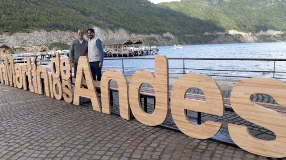 Gutiérrez y el intendente Saloniti acordaron las salidas recreativas para los próximos días. (ARchivo)