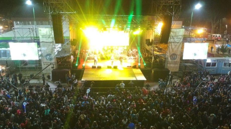 El escenario de la Fiesta Nacional del Lúpulo, en El Bolsón, vuelve a brillar este fin de semana.