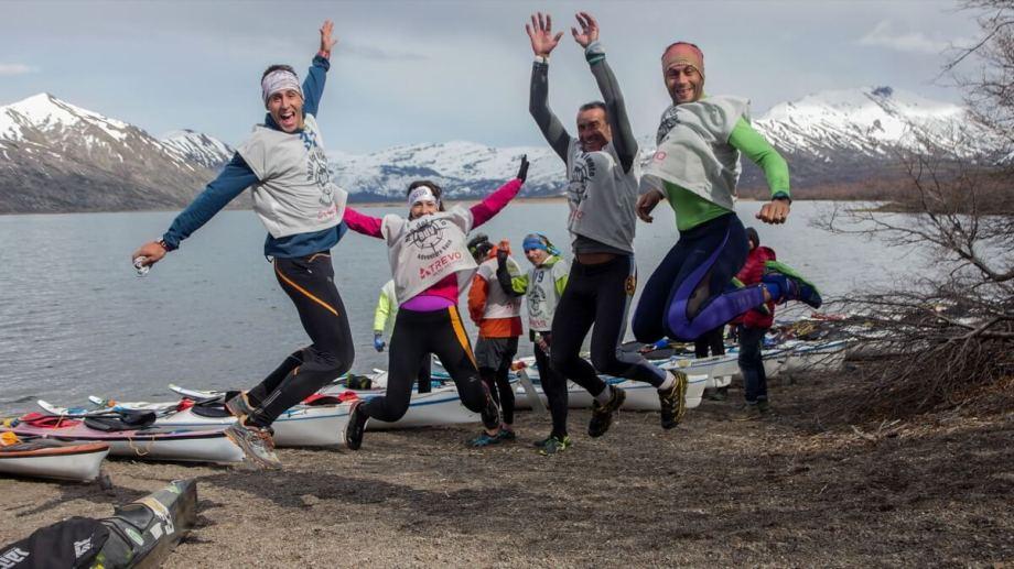La carrera que se realizará desde mañana en San Martín de los Andes ya tuvo una instancia en el norte neuquino. (Gentileza patagoniaadventurerace.com).-