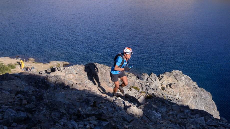 Santos Gabriel Rueda es el ganador indiscutido del ultra trail. Foto: Marcelo Martínez