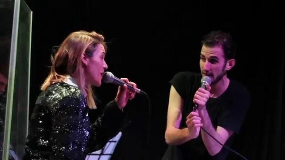 Valeria Gastaldi y Juan Pablo Schapira compartieron la composición y el escenario.