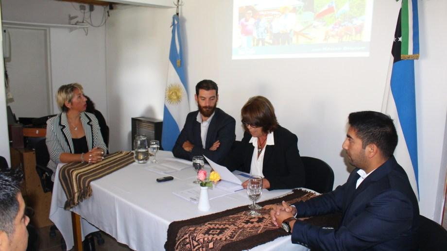 Mónica Balseiro estuvo en el Concejo Deliberante compuesto por tres bloques unipersonales. Gentileza