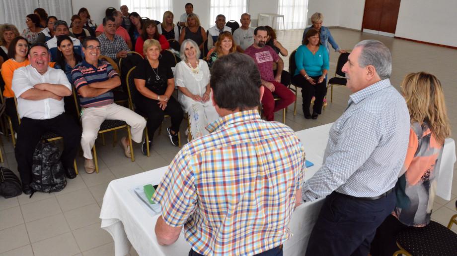 Reunion de la mesa directiva de UPCN. Foto: Marcelo Ochoa
