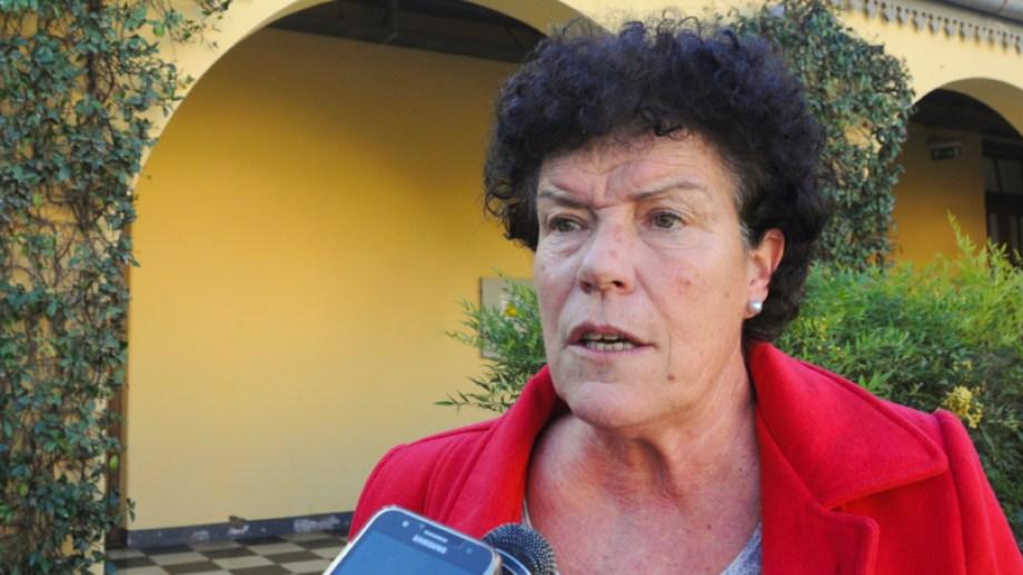 """""""Se está trabajando, pero es insuficiente"""" analizó la subsecretaria provincial de las Mujeres, Patricia Maistegui. (Gentileza).-"""
