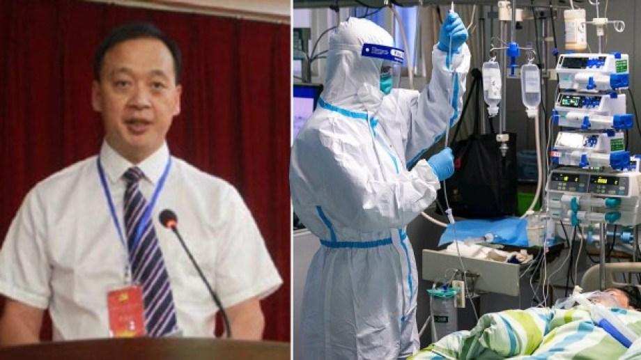 Liu Zhiming tenía 51 años y murió tras contagiarse la enfermedad en el hospital.