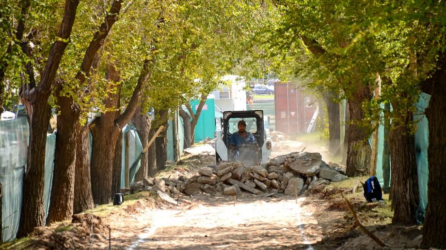 Los trabajos de remodelación comenzaron en marzo de 2020 (foto Mauro Pérez)