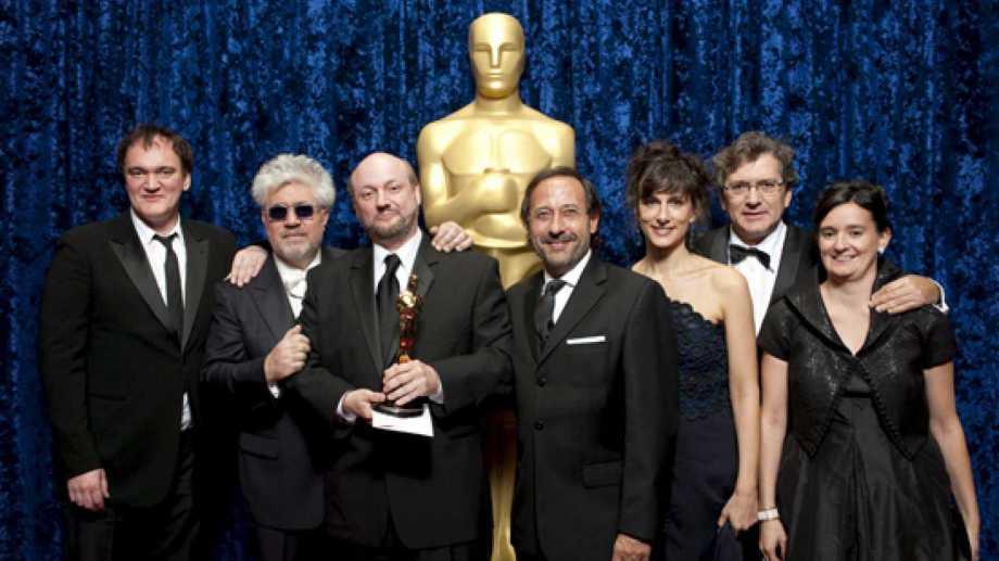 Aquella noche. Campanella y Francella, junto a Tarantino y Almodovar.