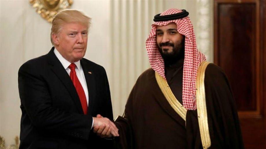 El presidente de Estados Unidos, Donald Trump, se reunió varias veces con el príncipe del reino suadita el año pasado.