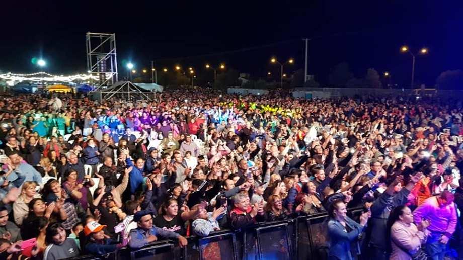 Hubo un buen marco de público durante una nueva edición de la Fiesta de la Soberanía. Foto: gentileza.