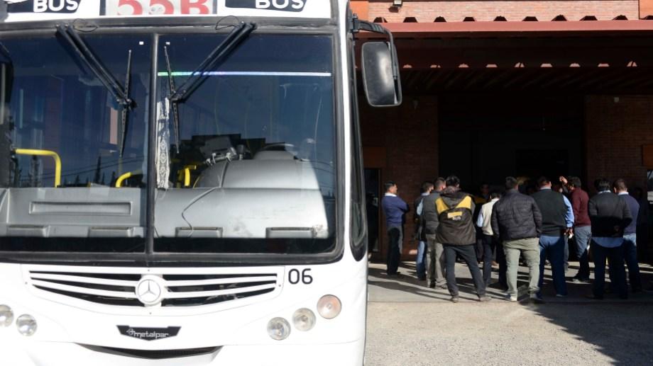 Bariloche lleva seis días de paro de transporte. Foto: archivo