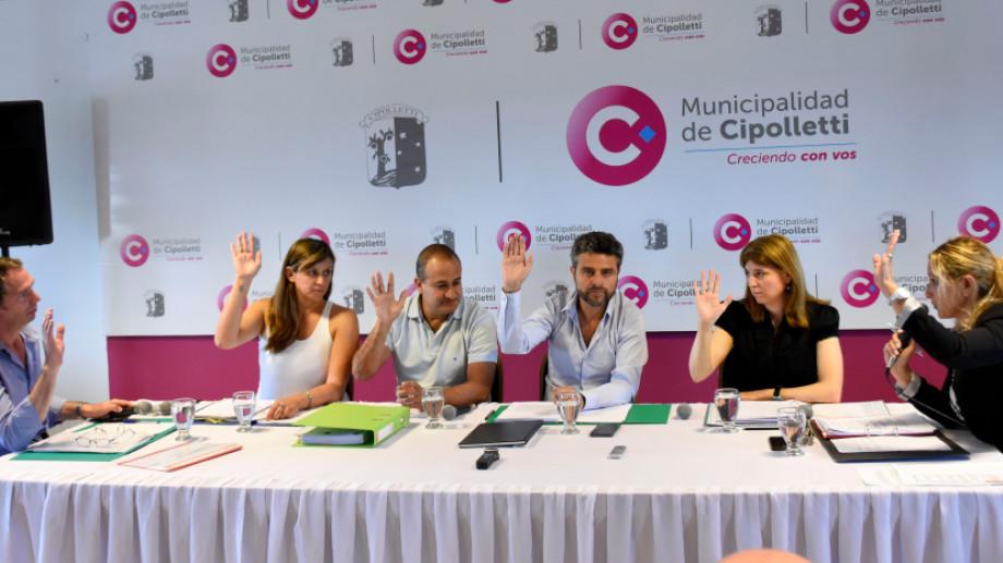 El Concejo Deliberante aprobó por unanimidad la Emergencia Sanitaria. Foto: archivo.
