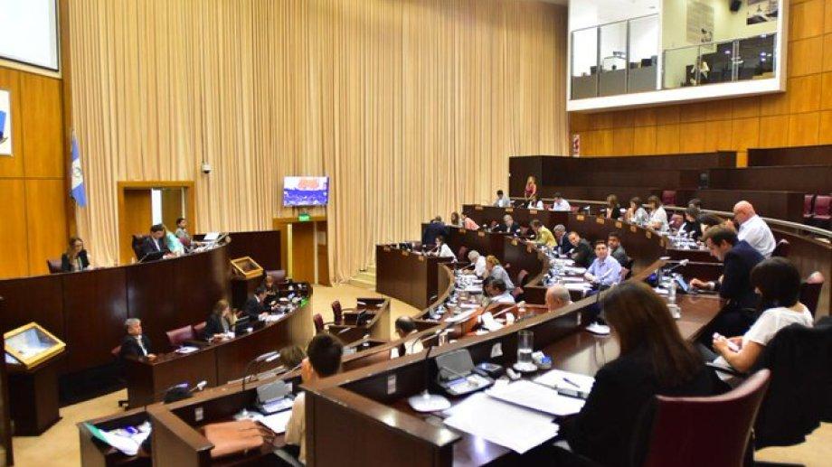 Anoche, la Legislatura aprobó la ley de emergencia sanitaria. (Gentileza).-