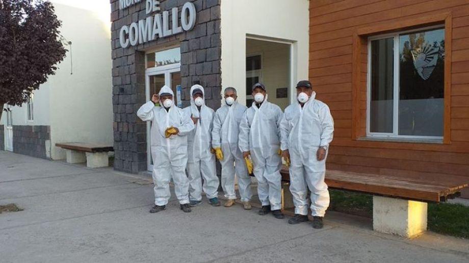 La situación obliga a los trabajadores municipales a tomar todas las medidas preventivas por el COVID-19