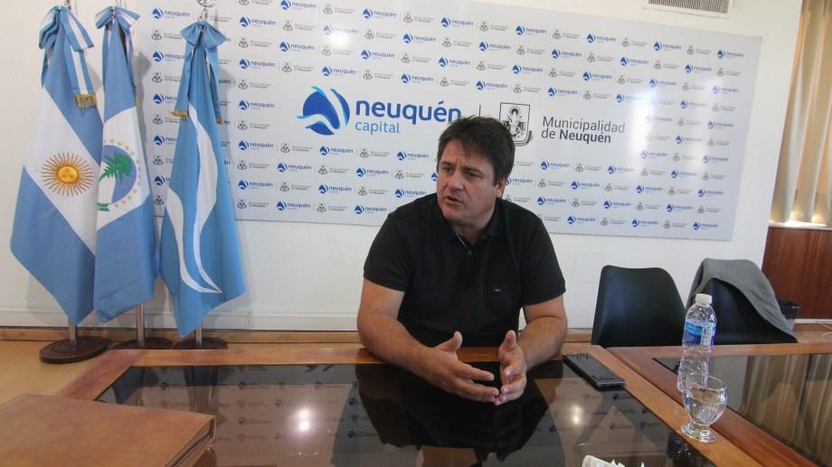 El intendente Mariano Gaido dijo que la cuarentena total es la mejor medida ante la pandemia