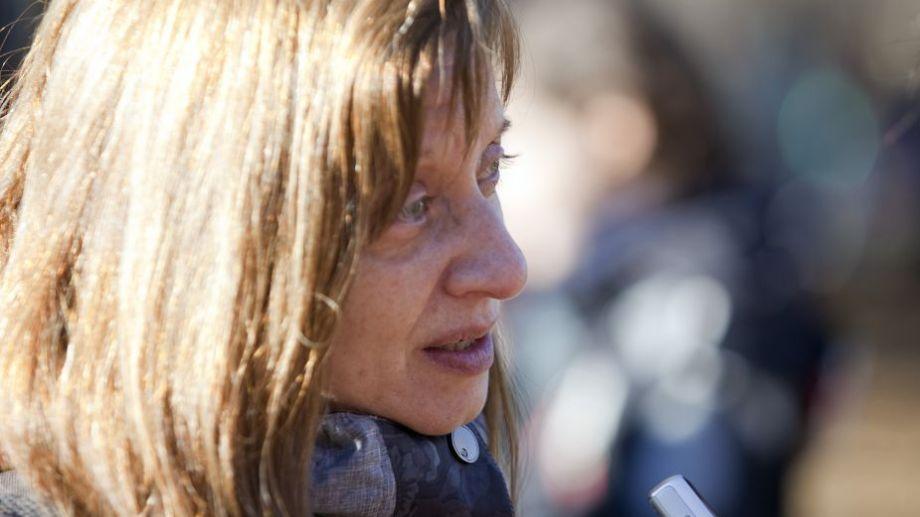 Graciela tuvo destacada participación en la vida gremial de la docencia universitaria. Foto: Juan Thomes.-