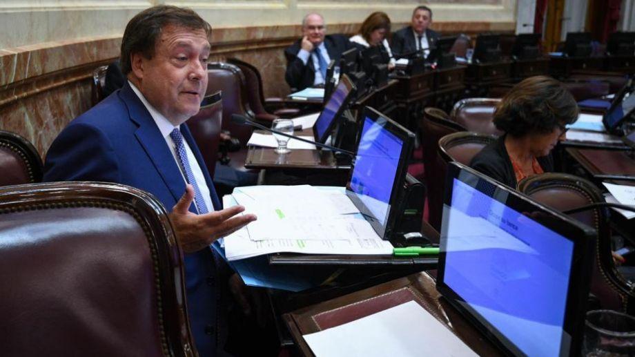 La iniciativa del gobernador fue elevada hoy. Foto: gentileza.-