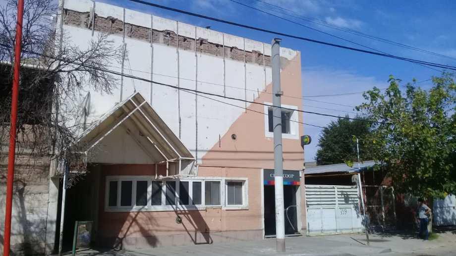 El lugar es alquilado por la Municipalidad. Allí funcionaban oficinas de la administración pública. Foto: gentileza.