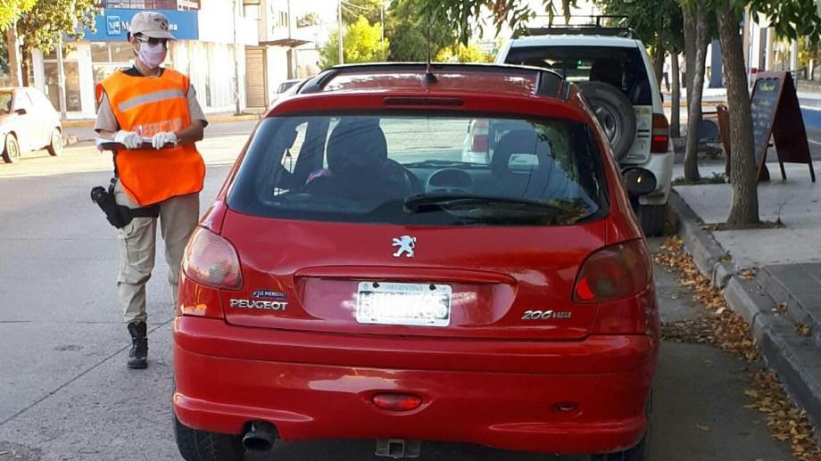 En los cotnroles de este miércoles fueron secuestrados los dos primeros autos. Foto: gentileza.