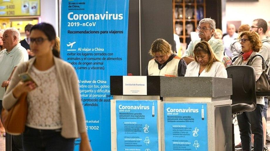 """Todos los casos de Coronavirus son """"importados"""". Ninguno se originó en el país. (Foto archivo)"""