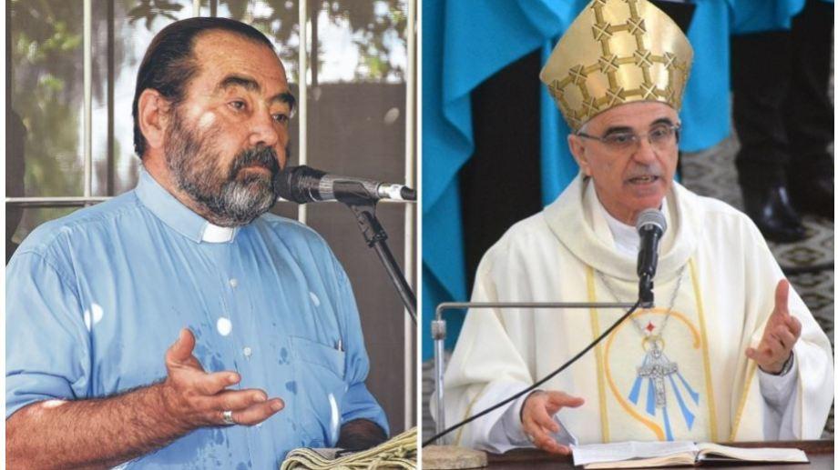 Este año, Cuenca cumplirá 10 años como obispo del Alto Valle. Ruffinoni es obispo emérito en Brasil. Lleva 50 años en el clero.